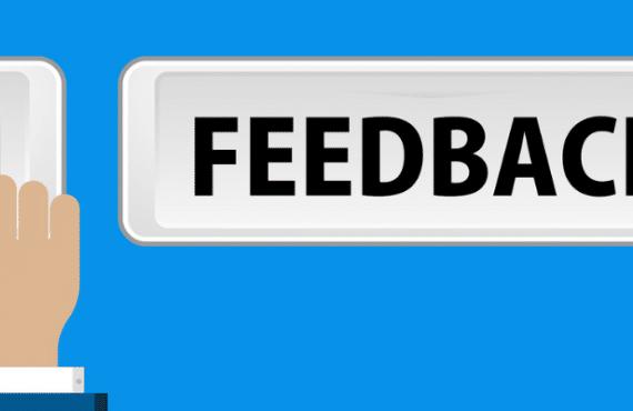 Kommunizieren durch Feedback - schlechtes Feedback ist besser als kein Feedback.