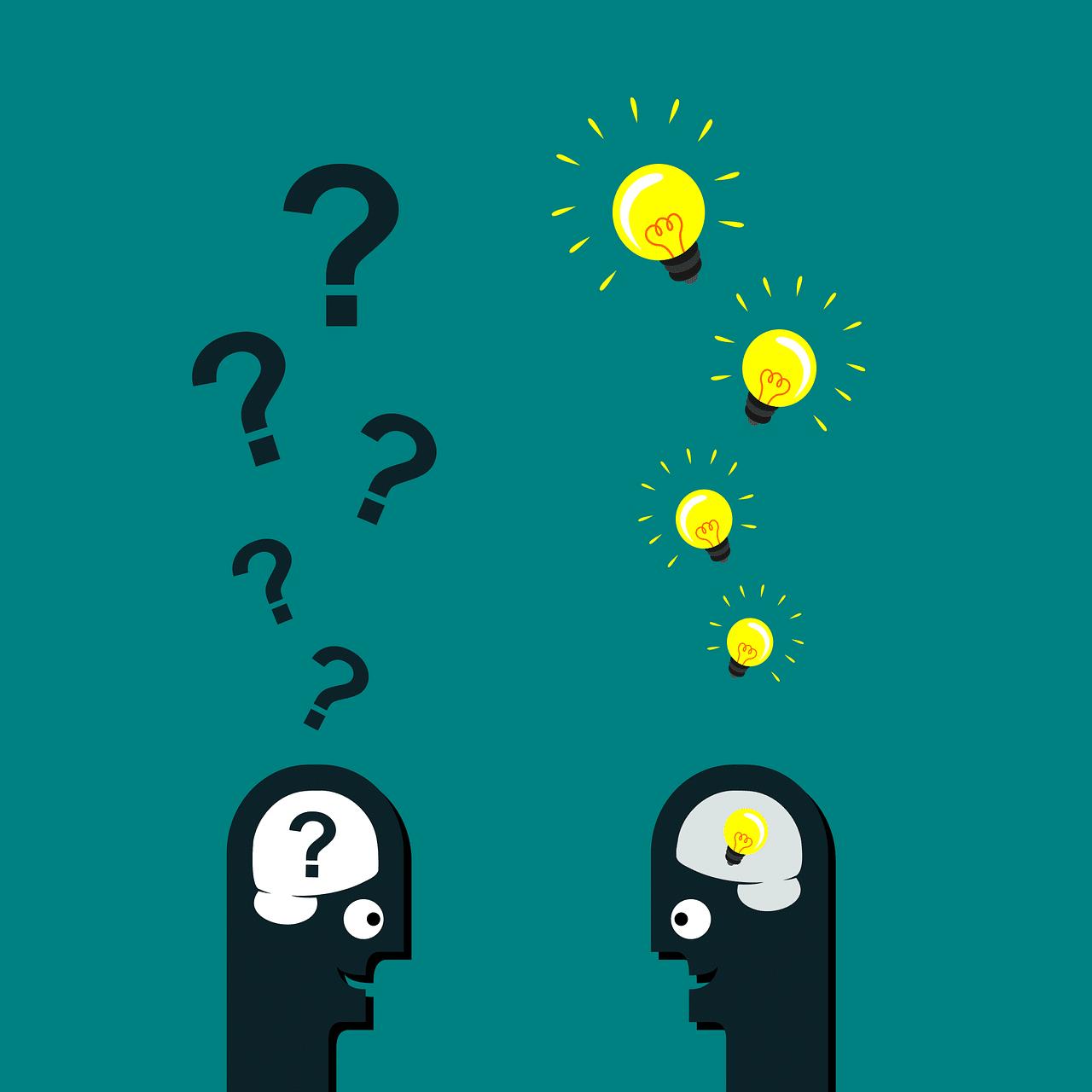 Frage - Kopf