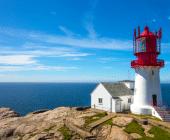 Leuchtturm sinnbildlich dafür, Mitarbeitern in stürmischen Zeiten Halt & Orientierung zu geben