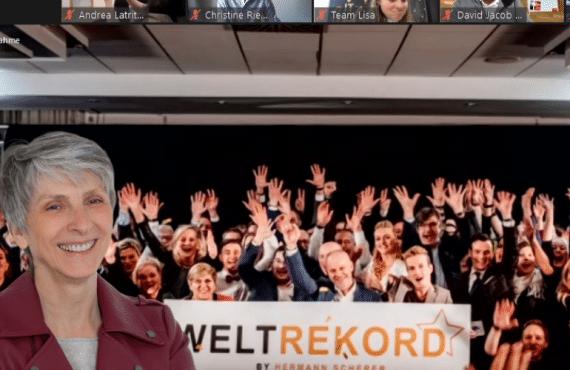 Christine Riederer Weltrekord-Inhaberin im Ersten Internationalen Zoom-Hack-Slam