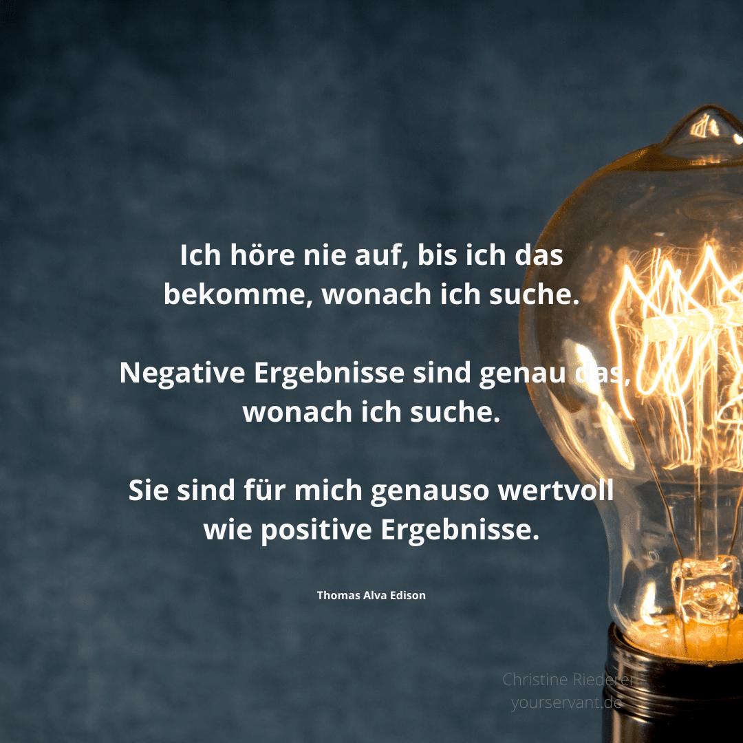 Glühbirne - der Erfinder Thomas Alva Edison